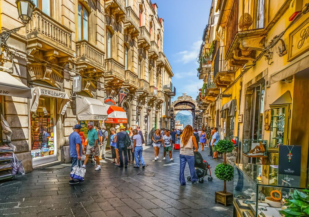 7 day itinerary sicily - taormina